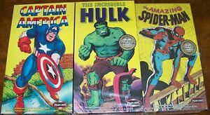 Polar Lights Captain America, Hulk, Spiderman MIB