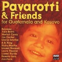 PAVAROTTI/BOYZONE/COCKER/CAREY... - PAVAROTTI & FRIENDS GAUTEMALA KOSOVO CD NEU