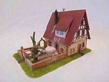 Diorama H0 Gebäude Gasthaus zur Weinlaube Top patiniert und gealtert