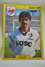 PANINI VIGNETTE STICKERS FOOTBALL FOOT 92 N°84 LOSC LILLE ALAIN FIARD