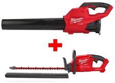 Milwaukee M18 Fuel Handheld Blower 120 Mph 450 Cfm Brushless Hedge Trimmer