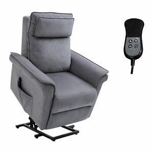 HOMCOM Electric Power Lift Recliner Chair Kneading Massage Sofa Lounge