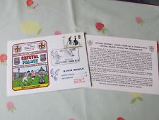 CRYSTAL Palace v SOUTHAMPTON 1979 Return to Division 1 FOOTBALL First Day Cover