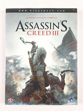 Assassin's Creed III 3 Guide Officiel Neuf PS3 Xbox 360