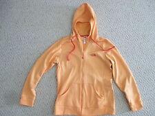 North Face Orange Hoodie Jacket Size M  womens