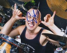 PSA/DNA SIGNED 8X10 PHOTO STEPHEN PERKINS (JANE'S ADDICTION) P2163