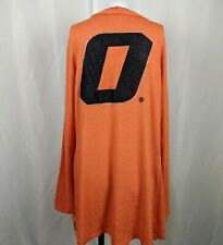 M OSU Oklahoma State Gameday Couture Women Orange Cardigan