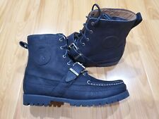 Polo Ralph Lauren Country Ranger Boots Black Suede size 10