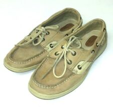Sperry Top-Sider Women's Size 7.5 Boat Shoes Loafers Brown Bluefish 9276619