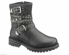 Harley-Davidson 100% Leather Upper Boots for Women