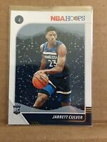2019-20 Panini NBA Hoops Basketball #203 Jarrett Culver RC Rookie Winter Edition