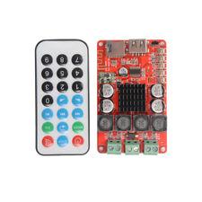 TPA3116 2x50W Bluetooth Digital Amplifier Board TF USB + Remote Control TE816