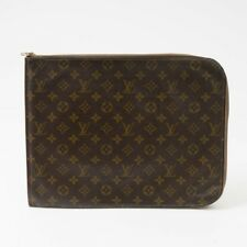 Louis Vuitton Authentic Vintage Monogram Canvas Portfolio Document Holder 14.5""