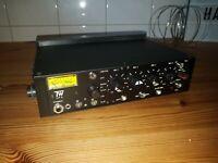 TW LP 4  4 Channel Broadcast Mixer 12V 48V Phantomspannung Batterie VU