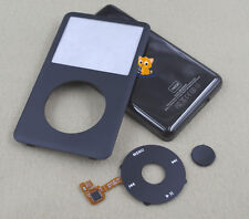 Black Faceplate Housing Case Cover Clickwheel for iPod 7th Classic Thin 160GB