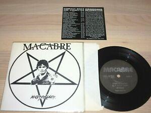 "MACABRE 7"" SINGLE - Nightstalker / 1993 US in MINT-"