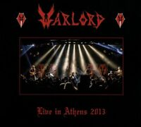 WARLORD - LIVE IN ATHENS 2013   2 CD NEU