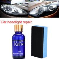 30ml Car Scratch Repair Coating Set Auto Headlight Polishing Fluid Restoration