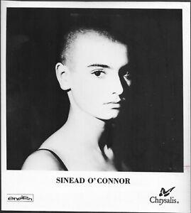 Sinead O'Connor 1980s Original Chrysalis Records Promo Portrait Photo