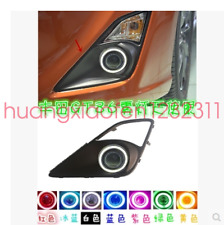 Complete Projector Fog Lamps w/LED Halo Ring Parking Lights For 13-16 Scion FR-S