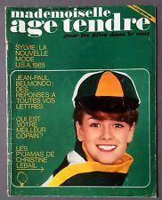 ►AGE TENDRE 4/1965 SYLVIE VARTAN - SHEILA - CLAUDE FRANCOIS - ALAIN DELON - GALL