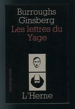 [beat generation] William Burroughs / Allen Ginsburg LES LETTRES DU YAGE EO