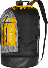 Stahlsac Bonaire Scuba Diving Travel Mesh Backpack Gear Bag Yellow NEW