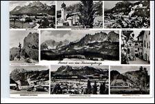 Kaisergebirge Österreich Mehrbild-AK div. Orte ua. St. Johann Schwendt Kössen