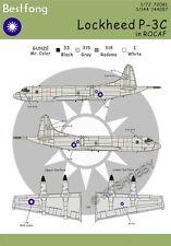 Bestfong Decal 1/144 Lockheed P-3 Orion High Viz R.O.C. (Taiwan) AF