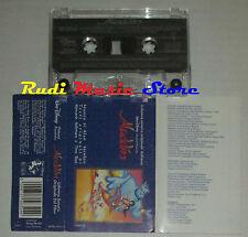 MC ALADDIN O.S.T. 1993 WALT DISNEY WDR 475632-4 cd lp dvd vhs