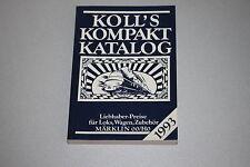 Koll's compacto catálogo de precios 1993
