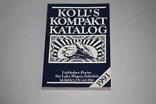 Koll´s Kompakt Preiskatalog 1993