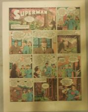 Superman Sunday Page #157 by Siegel & Shuster from 11/1/1942 Half Page:Year #4!