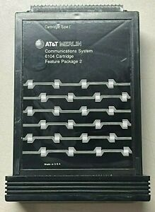 AT&T Avaya Lucent Merlin 6104 Cartridge Feature Package 2