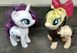 My Little Pony The Movie Songbird Serenade Sia Exclusive and  Rarity diamonds