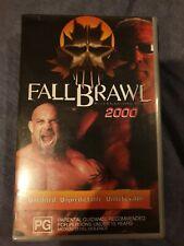 RARE WCW Fall Brawl 2000 VHS Excellent Condition! Non Rental
