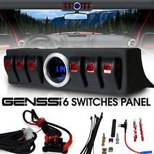 Firebug 6 Rocker Switch Panel Cotrol Bracket With Digital Voltmeter Jeep JK JKU