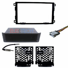 Radio Replacement Dash Kit 1 or 2-DIN w/Harness/Antenna for Chevrolet GMC Toyota