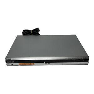 Sony RDR-GX330 DVD Recorder Player DVD+R/W, DVD-R/W, DVD+R DL No Remote TESTED