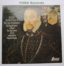 TV 37079S - ENGLISH SECULAR MUSIC OF THE LATE RENAISSANCE - Ex Con LP Record