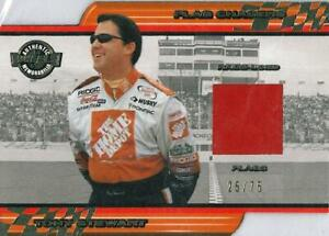 2001 Wheels High Gear Flag Chasers #FC 2/5 RED Tony Stewart   25/75