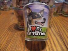 I LOVE MY RAT TERRIER - SHOT GLASS -