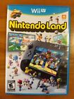 Nintendo Land (Wii U, 2012) - Previously owned, untested, manual included