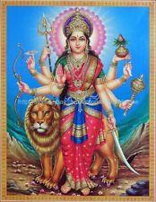 art and prints warrior goddess Durga paper poster