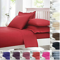 100% Egyptian Cotton House Wife Pillow Case Cover 200 Thread Count