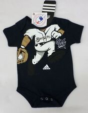MLB Milwaukee Brewers Newborn Navy Creeper 6-9 Months