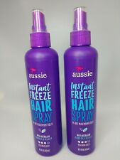 Aussie Instant Freeze Hairspray (non-Aerosol) Lot Of 2 As Pict Free Shipping