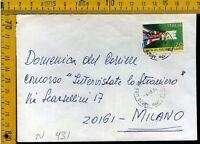 Repubblica francobollo commemorativo isolato N 431