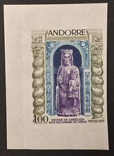 FRENCH ANDORRA, #221, 1973, IMPERF, single. (BJS)