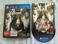 Yakuza Kiwami Steelbook Edition (Playstation 4, 2018) PS4 AUS PAL Complete